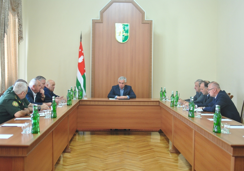 The President Held a Meeting of the Security Council