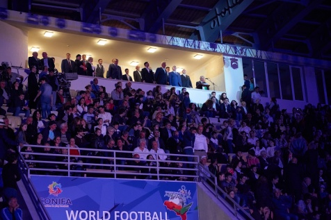 The Opening Ceremony of the 2016 ConIFA World Football Cup