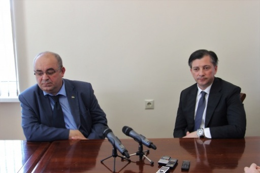Vitali Gabnia Held a Press Conference about the Trip to the Donetsk People's Republic