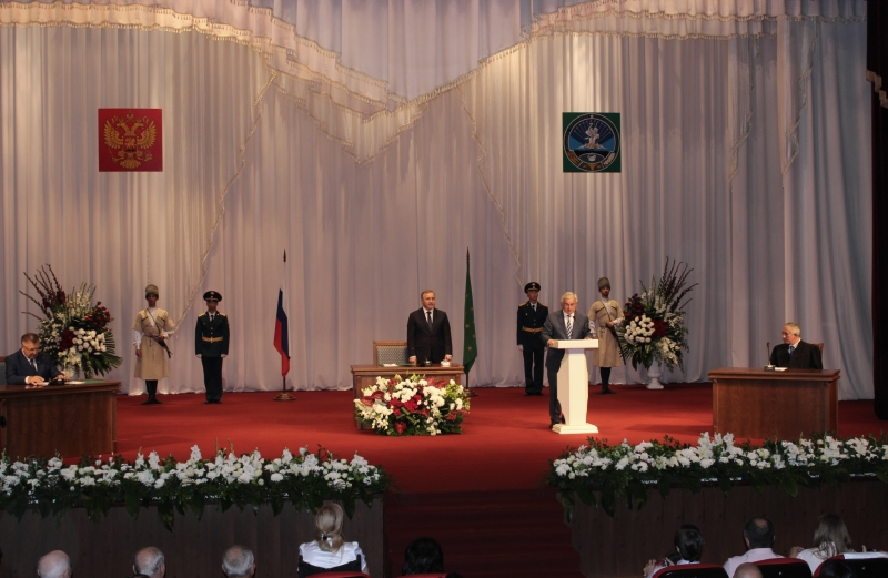 The President's Speech at the Inauguration Ceremony of the Head of the Republic of Adygea