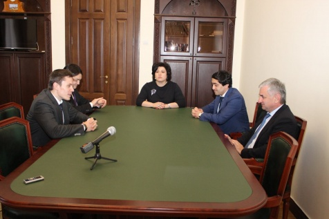 A Meeting with the Head of the Rosstandart Aleksey Abramov