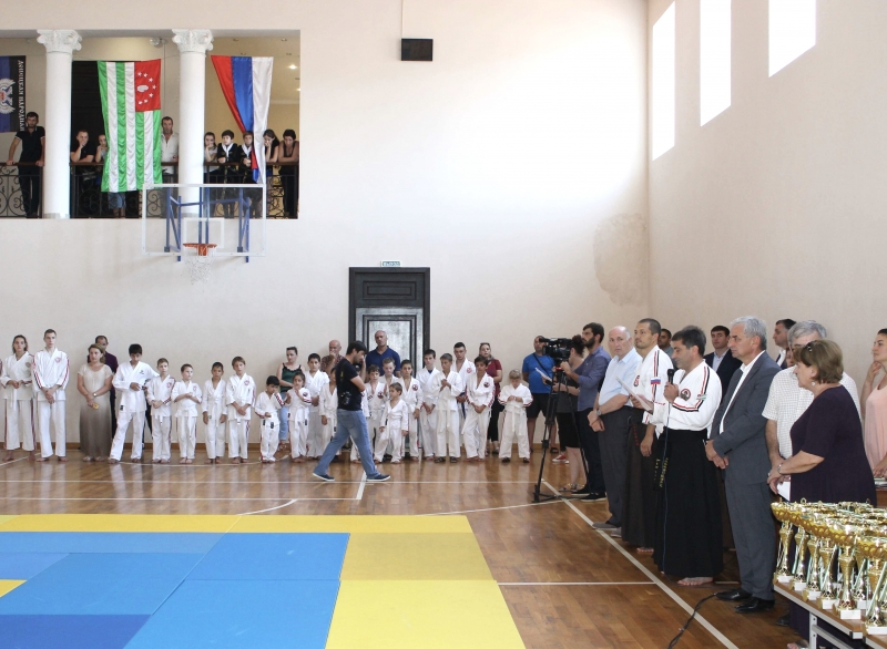 The President Attended the Sixth International Open Cup of Abkhazia for Koshiki Karate