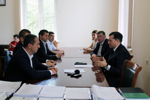 Vitali Gabnia Had a Meeting with the Representatives of Karate Classes of Abkhazia