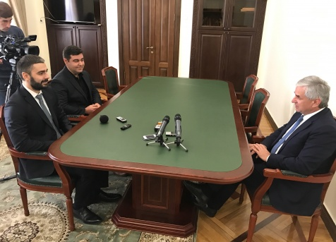 "The President Had a Meeting with the Head of the Foundation ""Highland Abkhazia"""