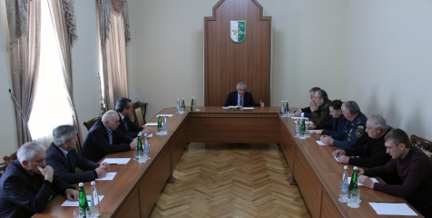 The President Held a Meeting on Account of the Weather Conditions in the State