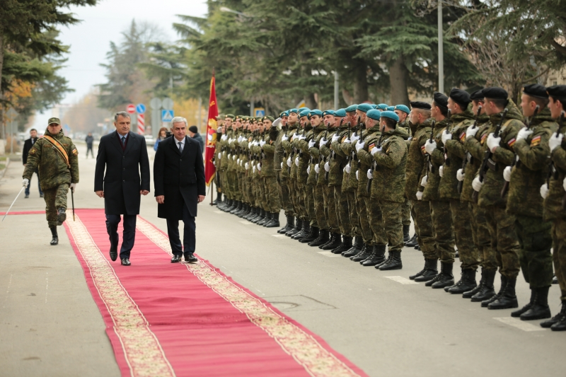 The Official Ceremony of Departure of the President from the Republic of South Ossetia