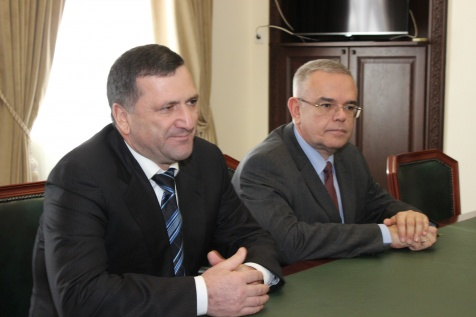 A Meeting with the Chairman of the Government of the Karachay-Cherkess Republic (Russian Federation) Ruslan Kazanokov