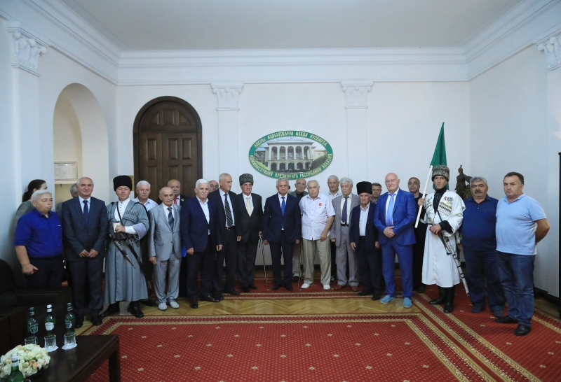 The President Had a Meeting with a Delegation from the Republics of the North Caucasus