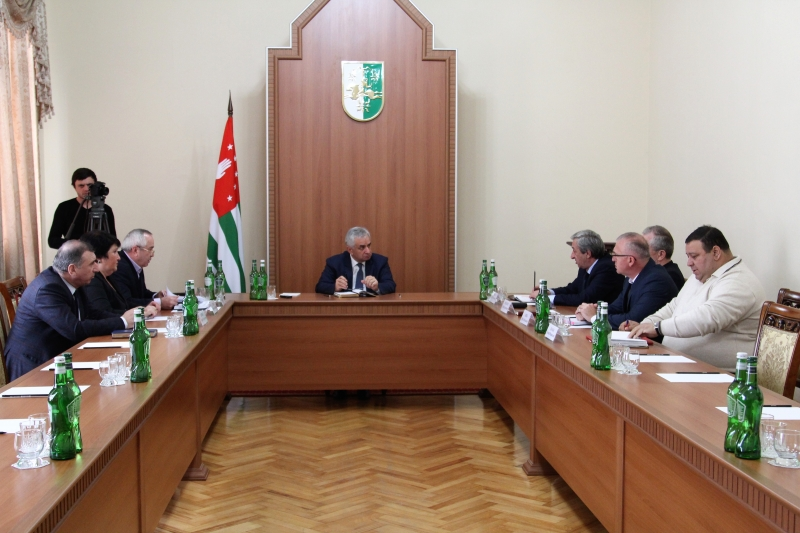 The President Had a Meeting with the Heads of Law Enforcement Structures