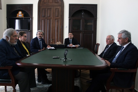 The President's Meeting with a Delegation from Turkey