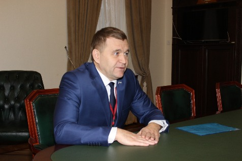 A Meeting with Sergey Filatov, Acting Deputy Chairman of the Government of the Oryol Oblast (Russian Federation)
