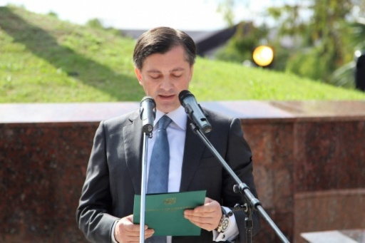 Vitali Gabnia's Speech at the Ceremony of the Opening of the Monuments to the Generals Sultan Sosnaliyev and Sergei Dbar