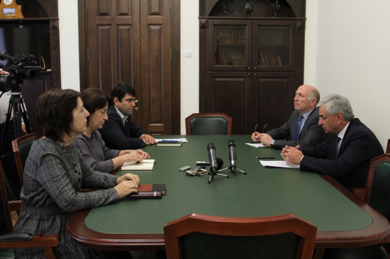The President Held a Meeting on the Questions of Development of the Abkhazian Language