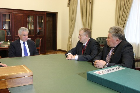 A Meeting with a Delegation from the Udmurt Republic (Russian Federation)
