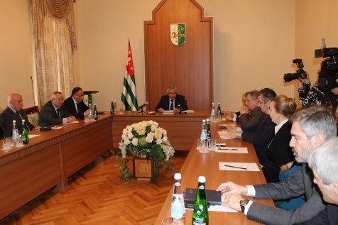 A Meeting with the Representatives of Political Parties, Civil Society Organisations and the Public