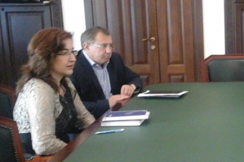 Meeting with Khibla Amichba, Representative Plenipotentiary of the Republic of Abkhazia in Germany