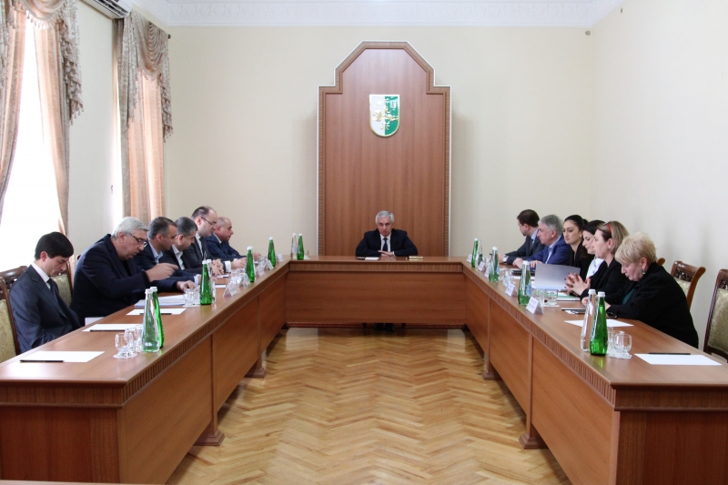 The President Held a Meeting with the Representatives of the Banking Community