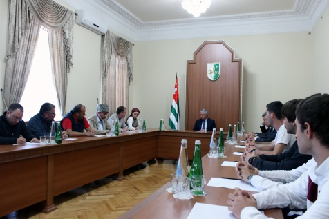 A Meeting with the Representatives of the Abkhazian Diaspora from Jordan