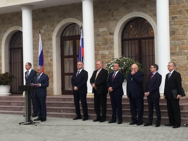 The President's Speech at the Opening of the Embassy of the Russian Federation in the Republic of Abkhazia