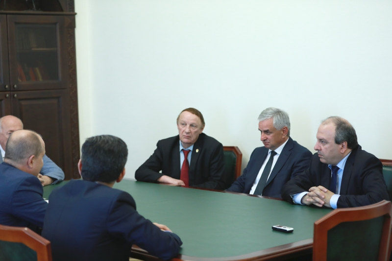 The President Had a Meeting with a Delegation from the Bashkir State Medical University