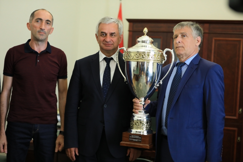 The President Had a Meeting with the Heads of the Equestrian Sports Federation of the Republic of Abkhazia