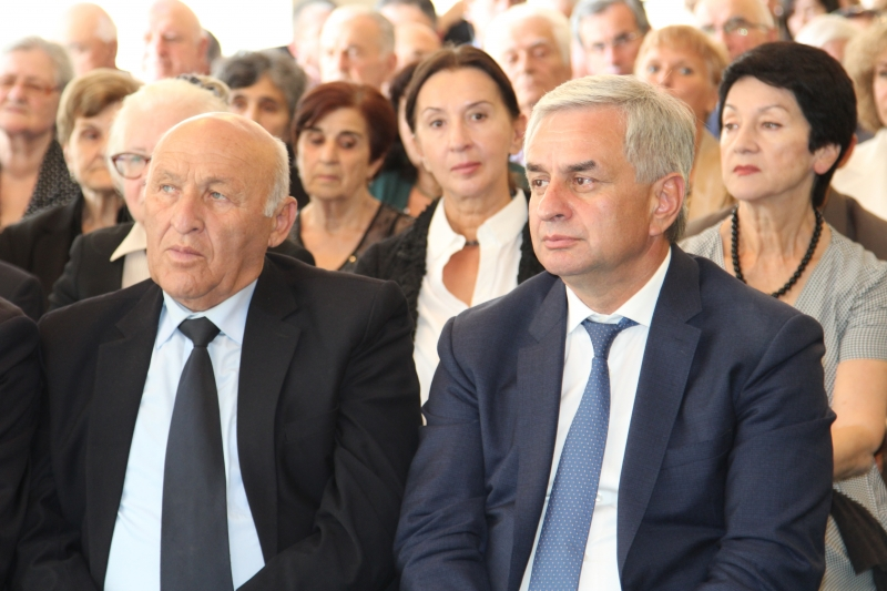 "The President Attended the Presentation of the Book ""Great Terror in Abkhazia. Abkhazian ASSR in 1937-1938"""