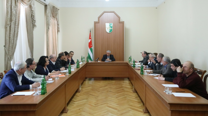 The President Held a Meeting of the Association of Disabled Persons of the Patriotic War of the People of Abkhazia