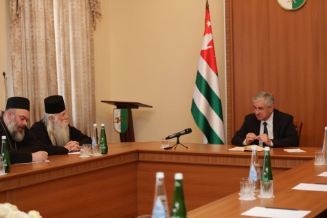 A Meeting with the Representatives of the Church Council of the Abkhazian Orthodox Church (AOC)