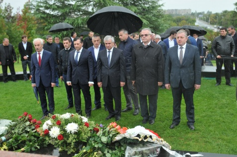 The President Took Part in Celebratory Events Dedicated to the Victory and Independence Day of the Republic of Abkhazia