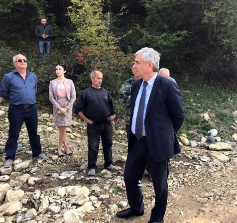 The President Visited the Village of Upper Eshera