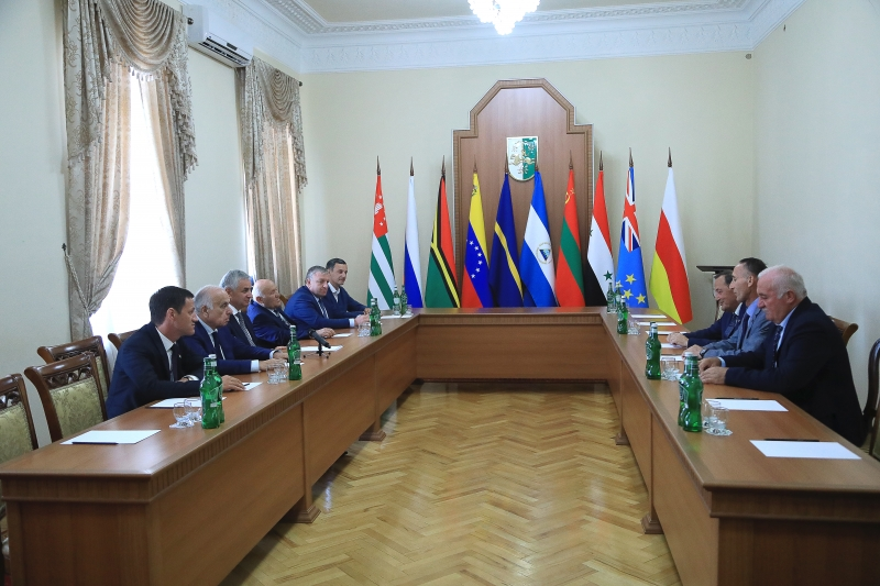 The President Had a Meeting with a Delegation from the Republic of South Ossetia