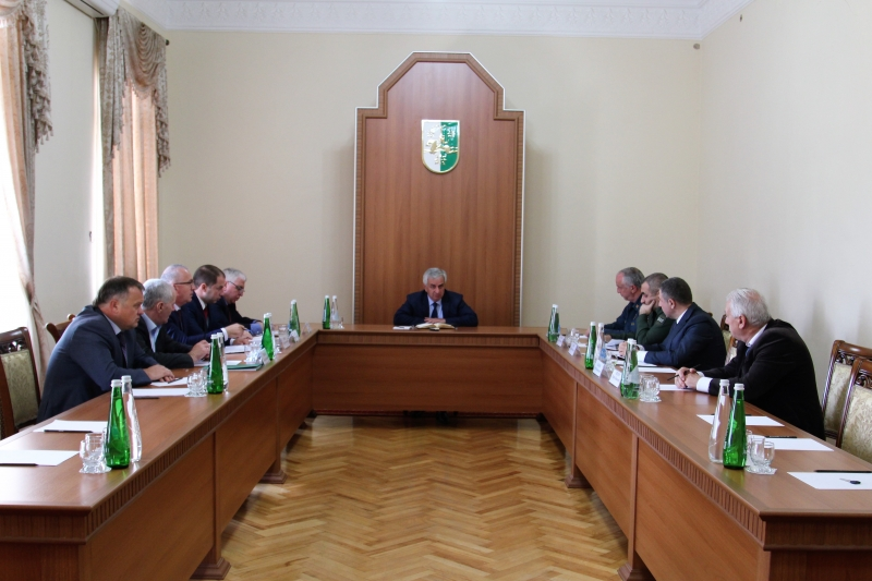 Raul Khadjimba Had a Meeting with the Representatives of Law Enforcement