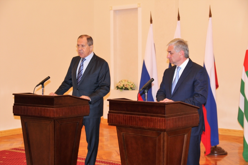 Negotiations between Raul Khadzhimba and Sergey Lavrov Took Place
