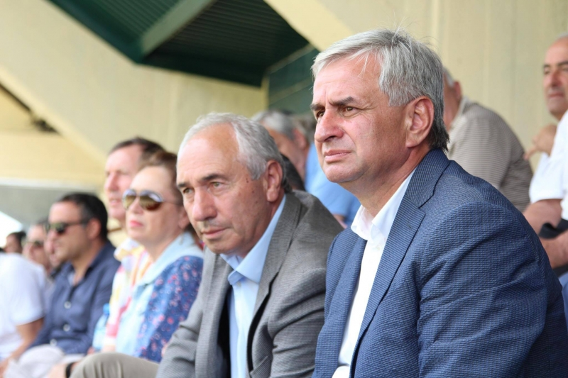 The President Attended a Horse Racing Competition in the Village of Bzyb