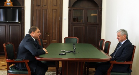 The President Had a Meeting with the Governor of the Oryol Oblast