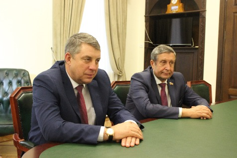 A Meeting with a Delegation from the Bryansk Oblast (Russian Federation)