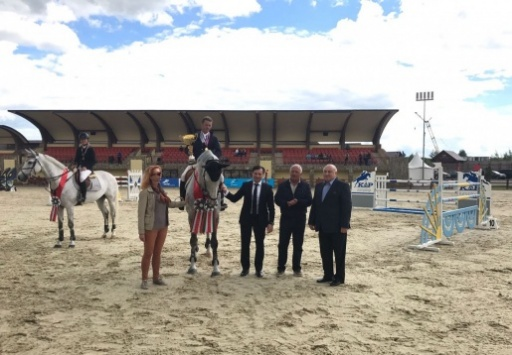 "Vice President Visited an Open Competition ""The Cup of Abkhazia"" for Show Jumping"