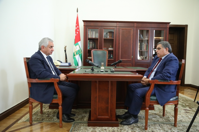 The President Held a Meeting with Chairman of the State Committee on Standards, Energy and Technical Supervision