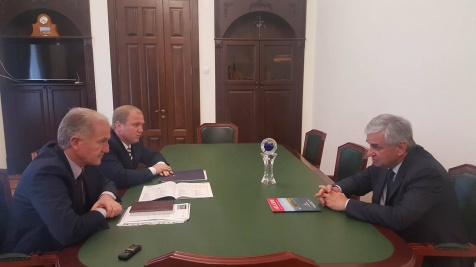 A Meeting with the Heads of the Ministry of Resorts and Tourism