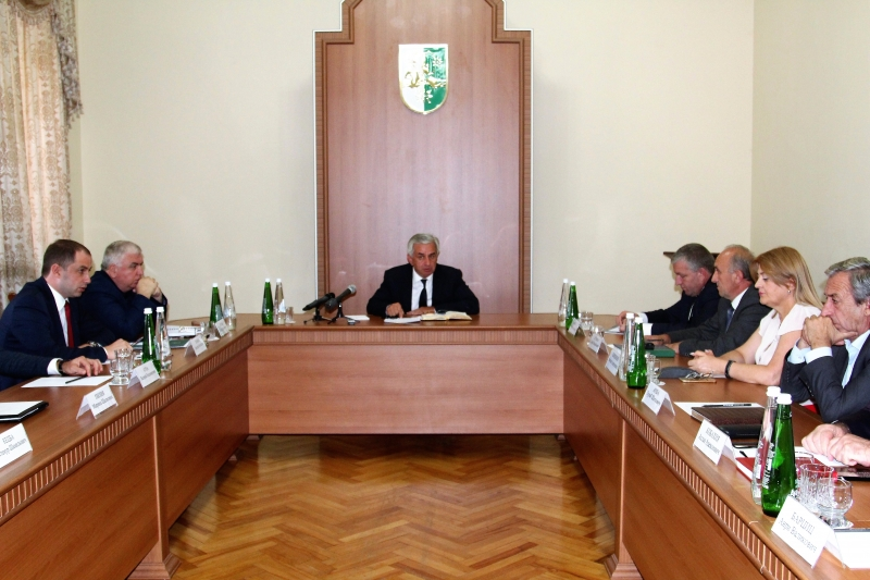 A Meeting with the Representatives of the Judiciary
