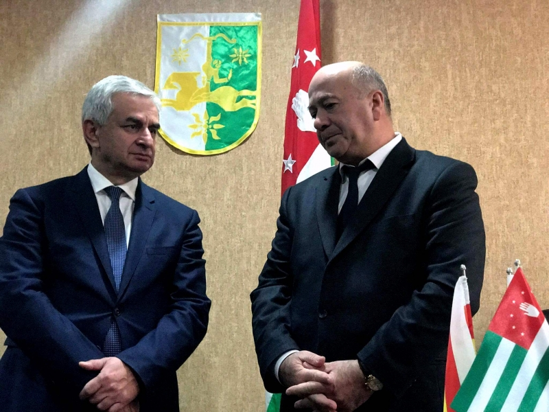 The President Visited the Embassy of the Republic of Abkhazia in the Republic of South Ossetia
