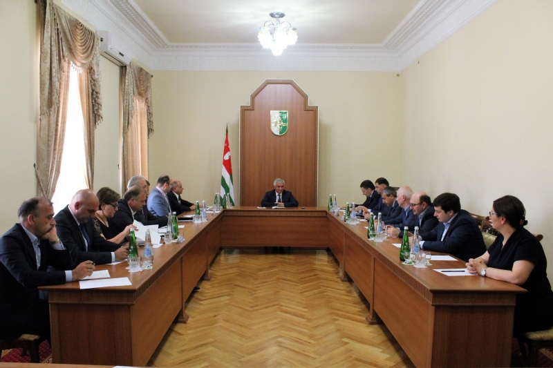The President Had a Meeting with the Representatives of Big Business