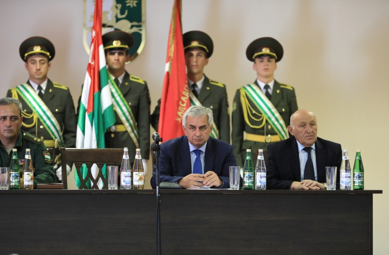 The President's Speech at a Festive Meeting of the Ministry of Defence on the Occasion of the Day of the Armed Forces of the Republic of Abkhazia
