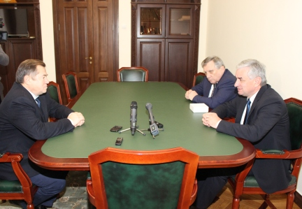 A Meeting with Sergey Glazyev, Adviser to the President of Russia