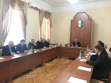 A Meeting on the Issue of Burial of the Remains of the Soviet Army Soldiers