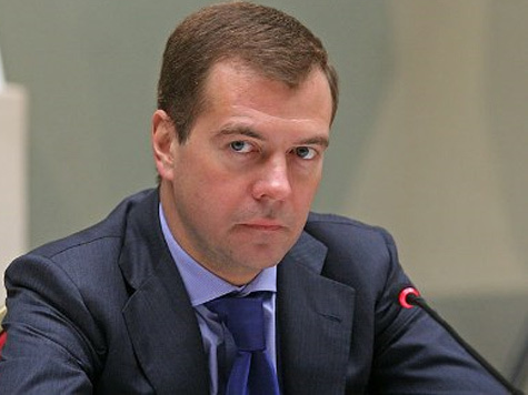 Dmitry Medvedev Congratulated Raul Khadzhimba with the New Year and Christmas