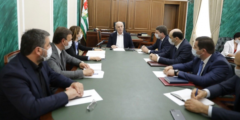The President Held a Meeting on the Questions of the Investment Program