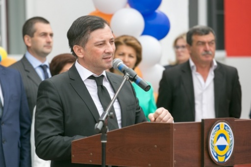 Vitali Gabnia Participated in the Opening of the Vladislav Ardzinba School in the Karachay-Cherkess Republic