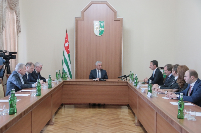 "The President Had a Meeting with the Organisers of the Participation of Abkhazian Producers in the International Agricultural Exhibition ""Golden Autumn – 2018"""