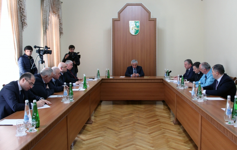 The President Held a Meeting on Eliminating the Consequences of the Natural Disaster
